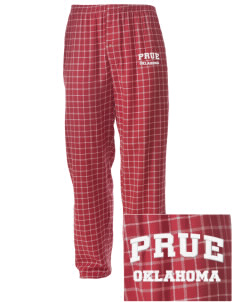 Prue Embroidered Men's Button-Fly Collegiate Flannel Pant