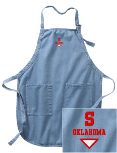 Summit Embroidered Full-Length Apron with Pockets