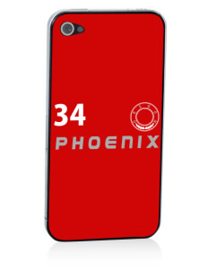 Phoenix Apple iPhone 4/4S Skin