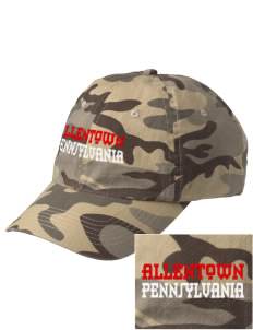 Allentown Embroidered Camouflage Cotton Cap