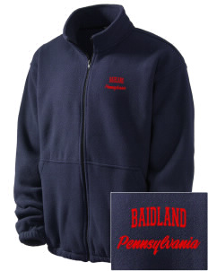 Baidland Embroidered Men's Fleece Jacket