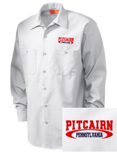 Pitcairn Embroidered Men's Industrial Work Shirt - Regular