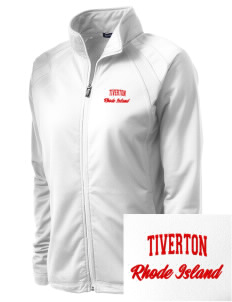 Tiverton Embroidered Women's Tricot Track Jacket