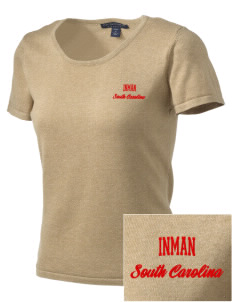 Inman Embroidered Women's Fine-Gauge Scoop Neck Sweater