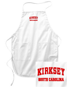 Kirksey Embroidered Full Length Apron