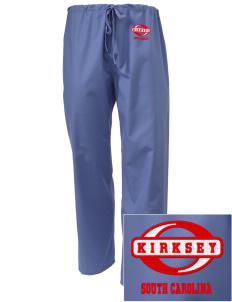 Kirksey Embroidered Scrub Pants