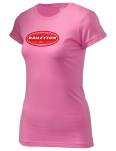 Baileyton  Juniors' Fine Jersey Longer Length T-Shirt