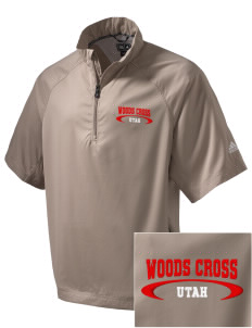 Woods Cross Embroidered adidas Men's ClimaProof Wind Shirt