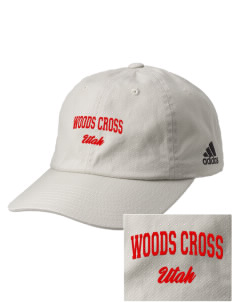 Woods Cross Embroidered adidas Relaxed Cresting Cap