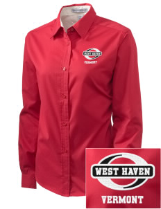 West Haven Embroidered Women's Easy-Care Shirt