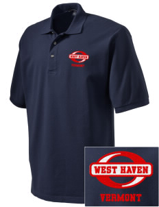 West Haven Embroidered Tall Men's Pique Polo