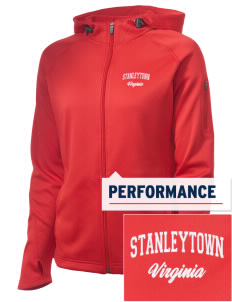 Stanleytown Embroidered Women's Tech Fleece Full-Zip Hooded Jacket
