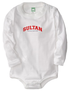 Sultan  Baby Long Sleeve 1-Piece with Shoulder Snaps
