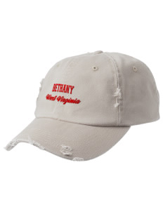 Bethany Embroidered Distressed Cap