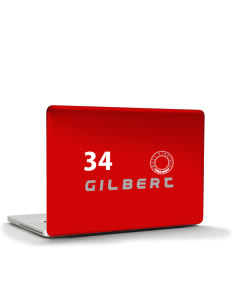 "Gilbert Apple Macbook Pro 17"" (2008 Model) Skin"