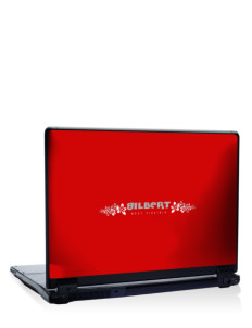 "Gilbert 17"" Laptop Skin"