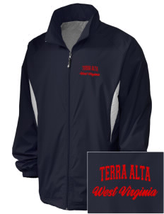Terra Alta Embroidered Holloway Men's Full-Zip Jacket
