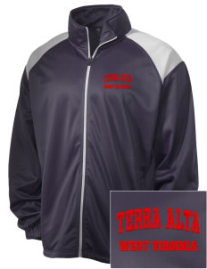 Terra Alta Embroidered Men's Tricot Track Jacket