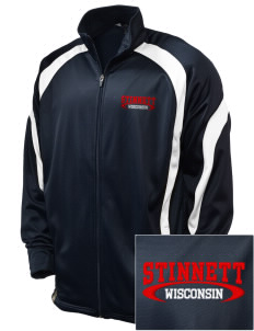 Stinnett Embroidered Holloway Men's Tricotex Warm Up Jacket