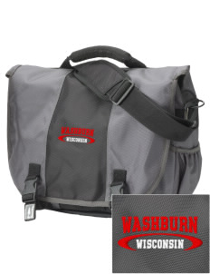 Washburn  Embroidered Montezuma Messenger Bag