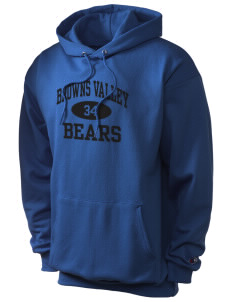 Browns Valley Elementary School Bears Champion Men's Hooded Sweatshirt