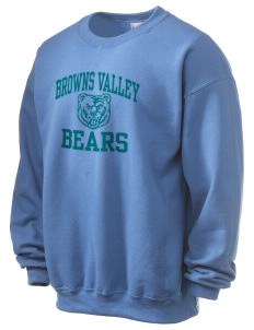 Browns Valley Elementary School Bears Ultra Blend 50/50 Crewneck Sweatshirt