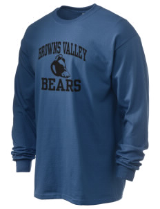 Browns Valley Elementary School Bears 6.1 oz Ultra Cotton Long-Sleeve T-Shirt