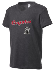 University of South Dakota Coyotes Kid's V-Neck Jersey T-Shirt