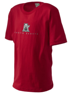 University of South Dakota Coyotes Kid's Organic T-Shirt