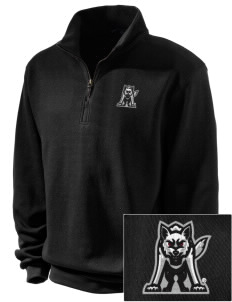 University of South Dakota Coyotes Embroidered Men's 1/4-Zip Sweatshirt