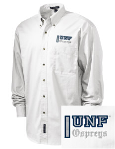 University of North Florida Ospreys Embroidered Tall Men's Twill Shirt
