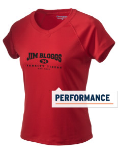 Jim Bloggs School Tigers Champion Women's Wicking T-Shirt