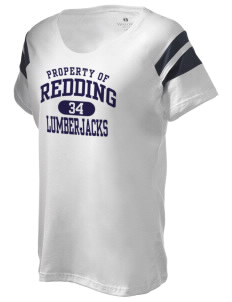 Redding Adventist Academy Lumberjacks Holloway Women's Shout Bi-Color T-Shirt