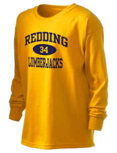 Redding Adventist Academy Lumberjacks Kid's 6.1 oz Long Sleeve Ultra Cotton T-Shirt