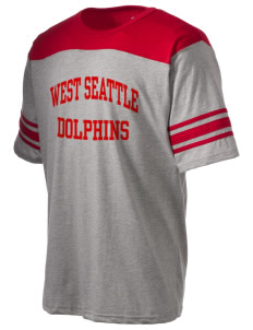 West Seattle YMCA Dolphins Holloway Men's Champ T-Shirt
