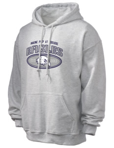 Imagine Prep at Coolidge Eagles Ultra Blend 50/50 Hooded Sweatshirt