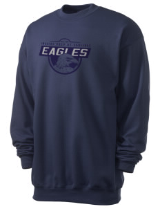 Imagine Prep at Coolidge Eagles Men's 7.8 oz Lightweight Crewneck Sweatshirt