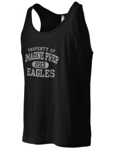 Imagine Prep at Coolidge Eagles Men's Jersey Tank