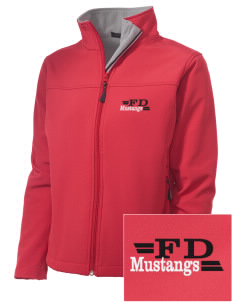First District Elementary School Mustangs Embroidered Women's Soft Shell Jacket