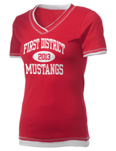 First District Elementary School Mustangs Holloway Women's Dream T-Shirt