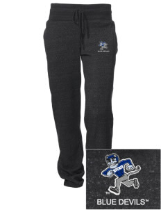 University of Wisconsin-Stout Blue Devils Embroidered Alternative Women's Unisex 6.4 oz. Costanza Gym Pant