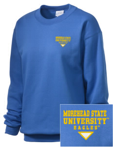 Morehead State University Eagles Embroidered Unisex Crewneck Sweatshirt