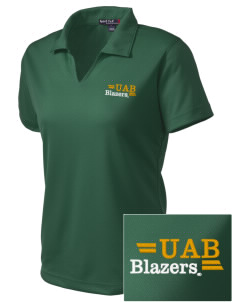 University of Alabama at Birmingham Blazers Embroidered Women's Dri Mesh Polo