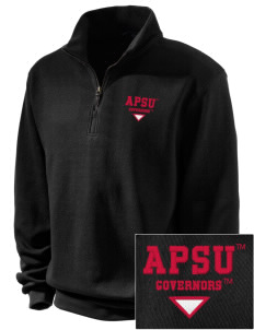 Austin Peay State University Governors Embroidered Men's 1/4-Zip Sweatshirt