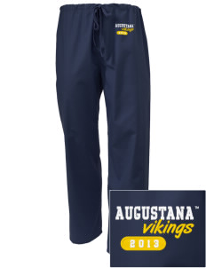 Augustana College Vikings Embroidered Scrub Pants