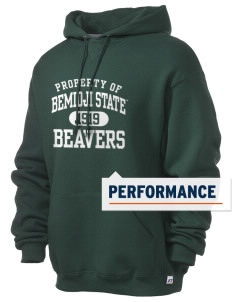 Bemidji State University Beavers Russell Men's Dri-Power Hooded Sweatshirt