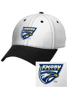 Emory University Eagles Embroidered New Era Snapback Performance Mesh Contrast Bill Cap