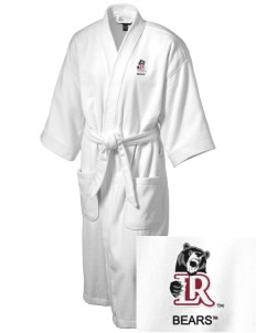 Lenoir-Rhyne University Bears Embroidered Terry Velour Robe