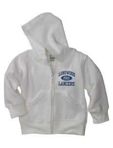 Longwood University Lancers Baby Full Zip Hoodie
