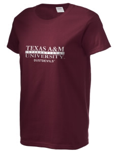 Texas A&M International University Dustdevils Women's 6.1 oz Ultra Cotton T-Shirt